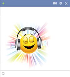 Chillax Headphones Symbols Amp Emoticons