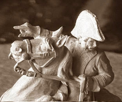 Cuarto juego de ajedrez, José de Palafox, caballo blanco