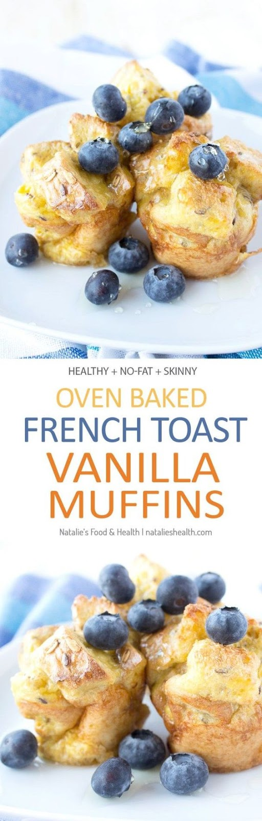 French Toast Vanilla Muffins