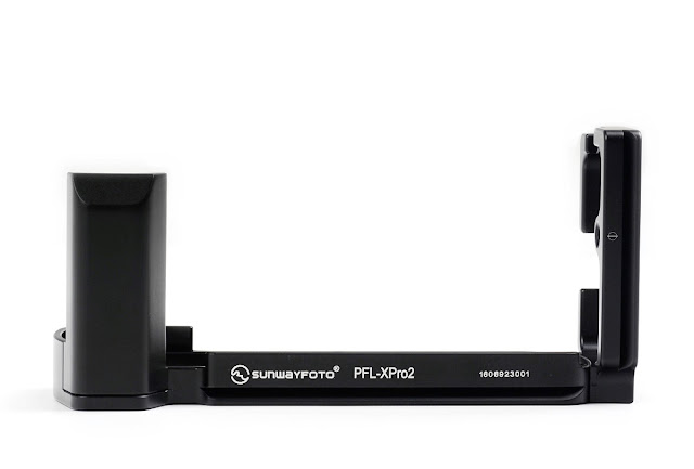 Sunwayfoto PFL-XPro2 L Plate w/ Grip front view