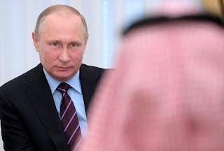يسعى بوتين إلى تحقيق هدف رئيسي من توحيد النفط السعودي ضد إيران في إدارة أسعار النفط العالمية