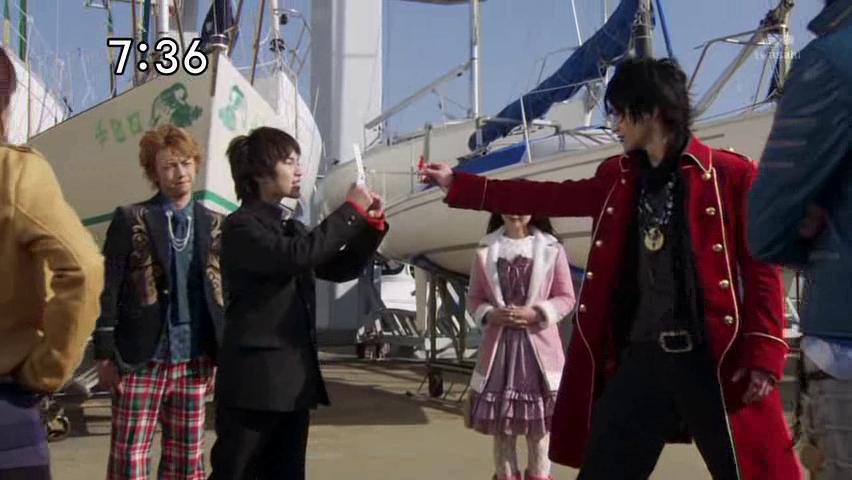 Henshin and Rollout: Kaizoku Sentai Gokaiger: Episode Two