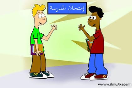 Contoh Percakapan Bahasa Arab Tentang Ujian Sekolah