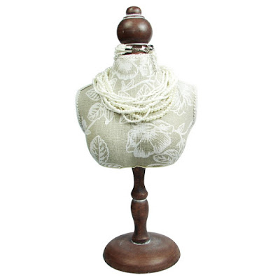 Shop Nile Corp Wholesale Fabric Covered Mini Bust Display