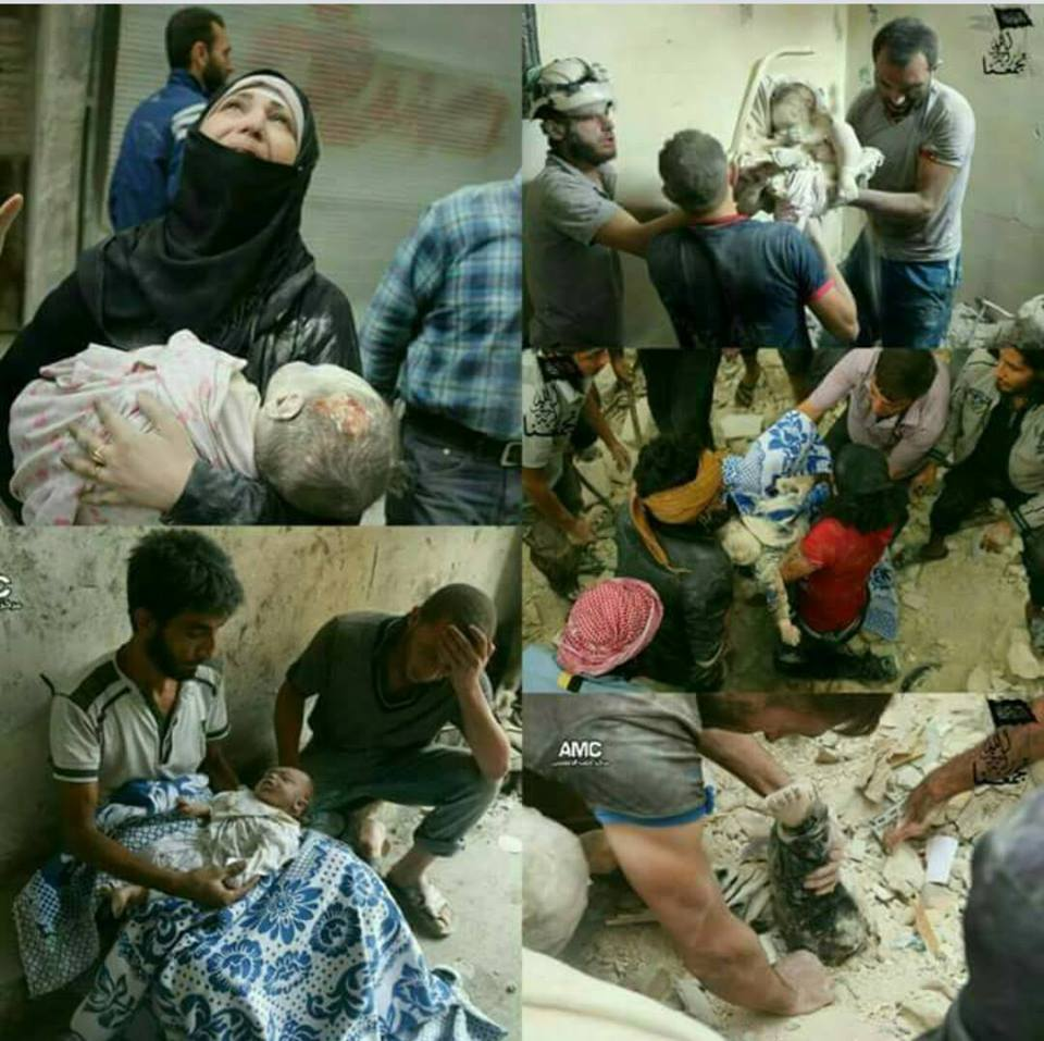 Surat Terbuka Teruntuk Tuan Presiden Atas Pembantaian Aleppo