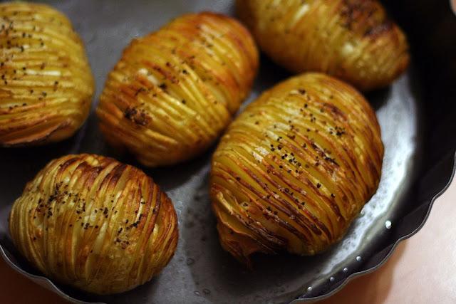 Recette Pommes de terre rôties au four