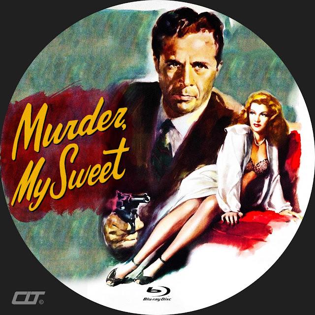 Murder My Sweet Bluray Label
