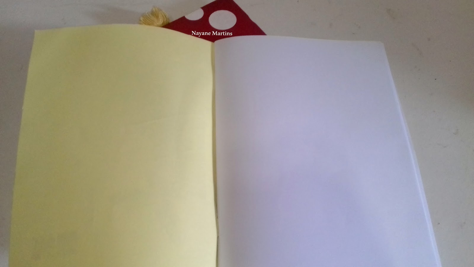 Detalhes Caderno Grampeado