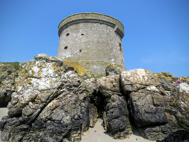 Day trip to Ireland's Eye Island - Martello Tower