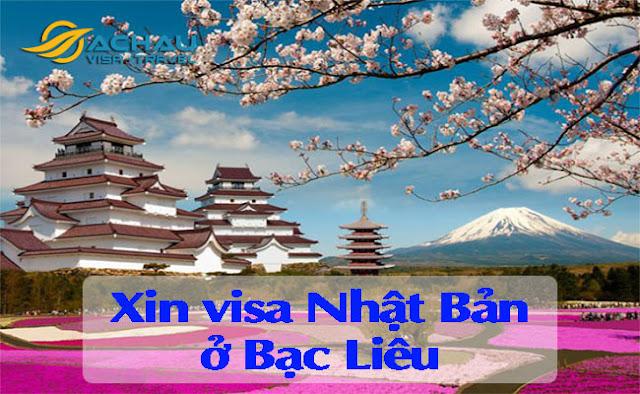 Xin visa Nhật Bản ở Bạc Liêu như thế nào ?
