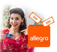 Voucher 300 lub 500 zł do wykorzystania na Allegro w prezencie od Citibanku