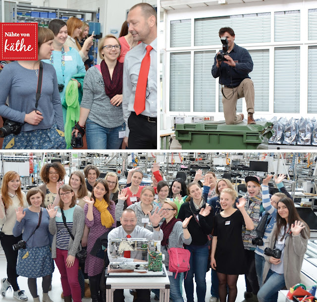 BERNINA Blogger Days 2016 in Steckborn