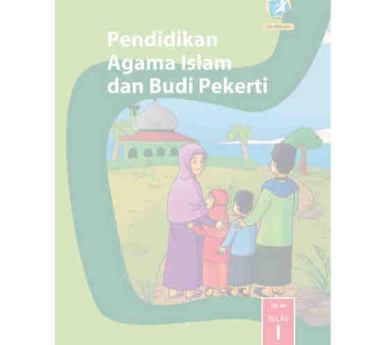 Buku Agama Islam Kelas 1 SD/MI Kurikulum 2013 Revisi 2017