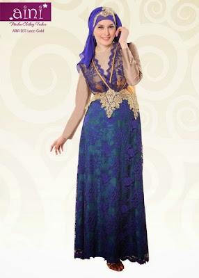 Model Gaun Muslim Pesta Pernikahan Terbaru