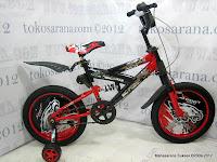 1 Sepeda Anak Forland 1201 Full Suspension 12 Inci