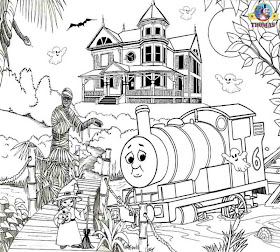 James Thomas And Friends Coloring Pages