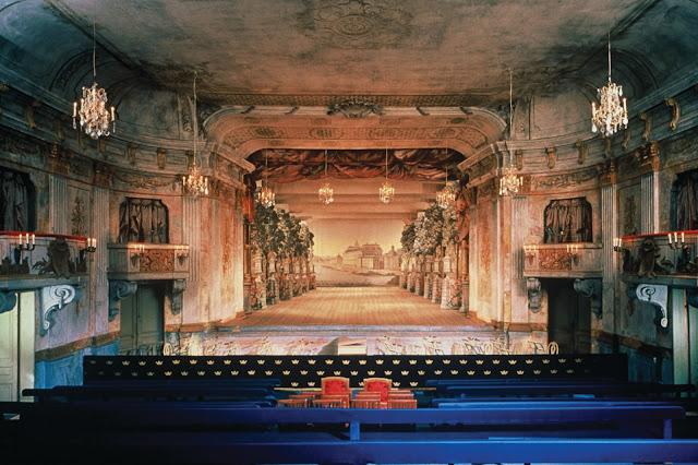 Drottningholms Slottsteater - photo Bengt Wanselius