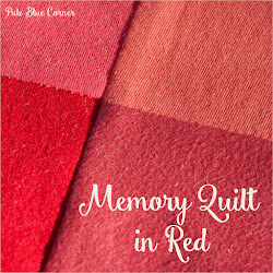 Memory Quilt in Red