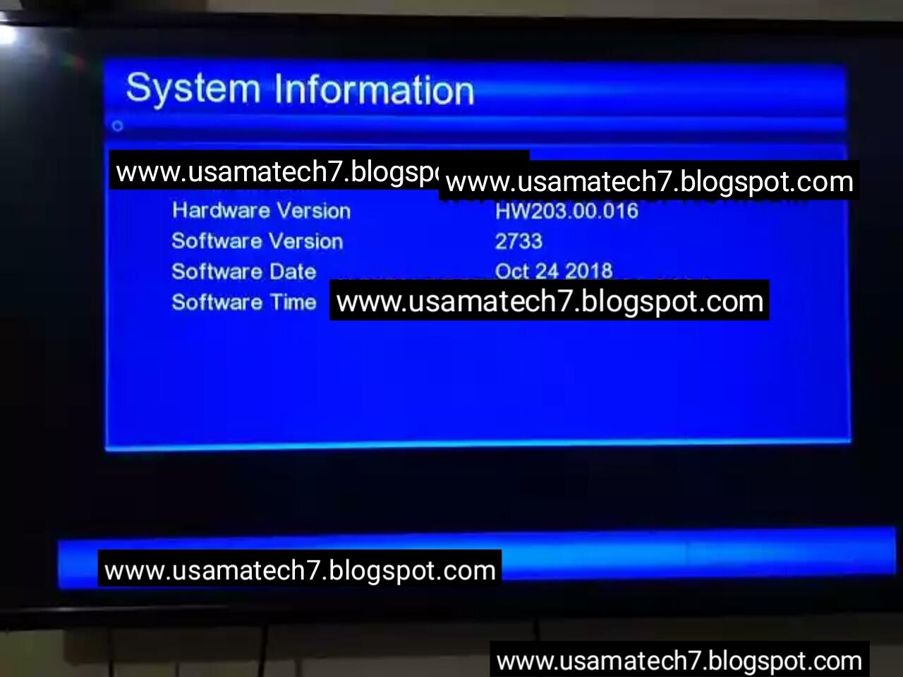 GX6605S H/W203 00 016 Type HD Receiver Power VU Key New