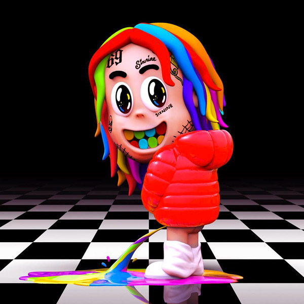 6IX9INE TAPS NICKI MINAJ, KANYE WEST, & TORY LANEZ FOR 'DUMMY BOY'