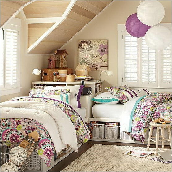Key Interiors by Shinay: Decorating Girls Room With Two ...