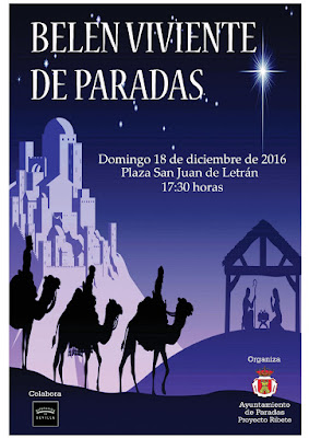 Belén Viviente de Paradas (Sevilla) 2016