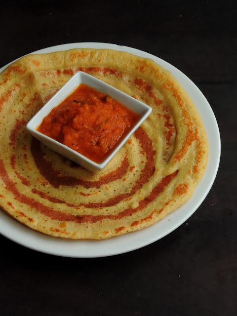 Tomato Spicy Chutney, Thakkali Kara Chutney