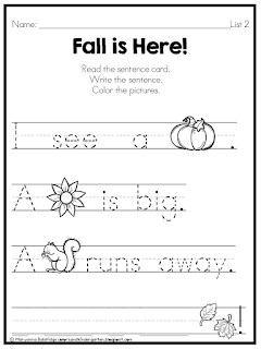 https://www.teacherspayteachers.com/Product/My-Kindergarten-Sight-Word-Pre-Primer-Centers-2695728