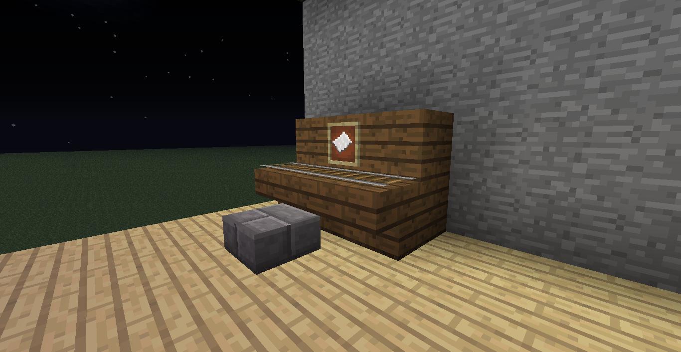 Minecraft Muebles Y Decoración En Minecraft Sin Mods