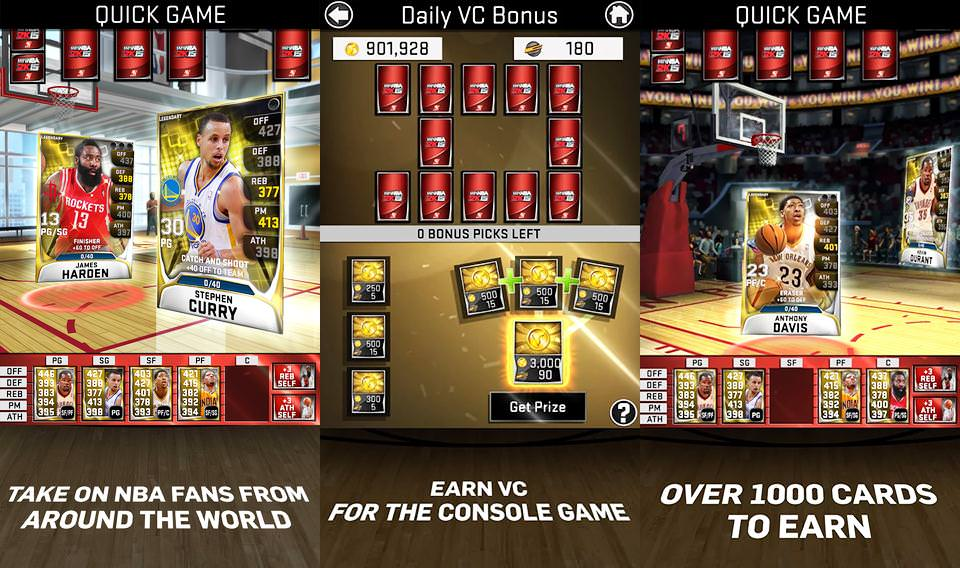 NBA 2k15 App Now Available for Android and iOS : MyNBA2k15