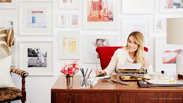 Decor Inspiration At Office With Lauren Conrad Fashion