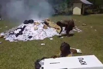 Polri: Penyebar Video Pembakaran Surat Suara Bisa Dipidana