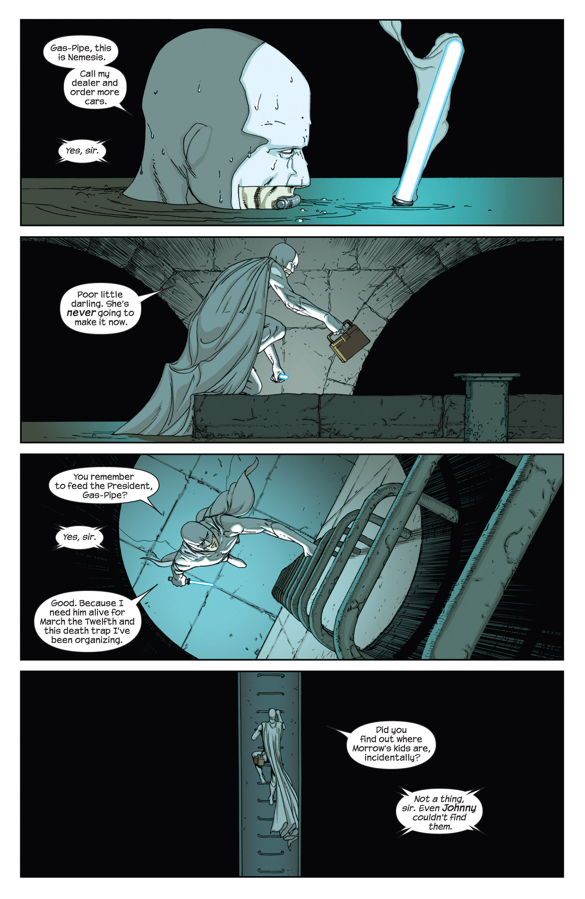 Read online Millar & McNiven's Nemesis comic -  Issue #2 - 23