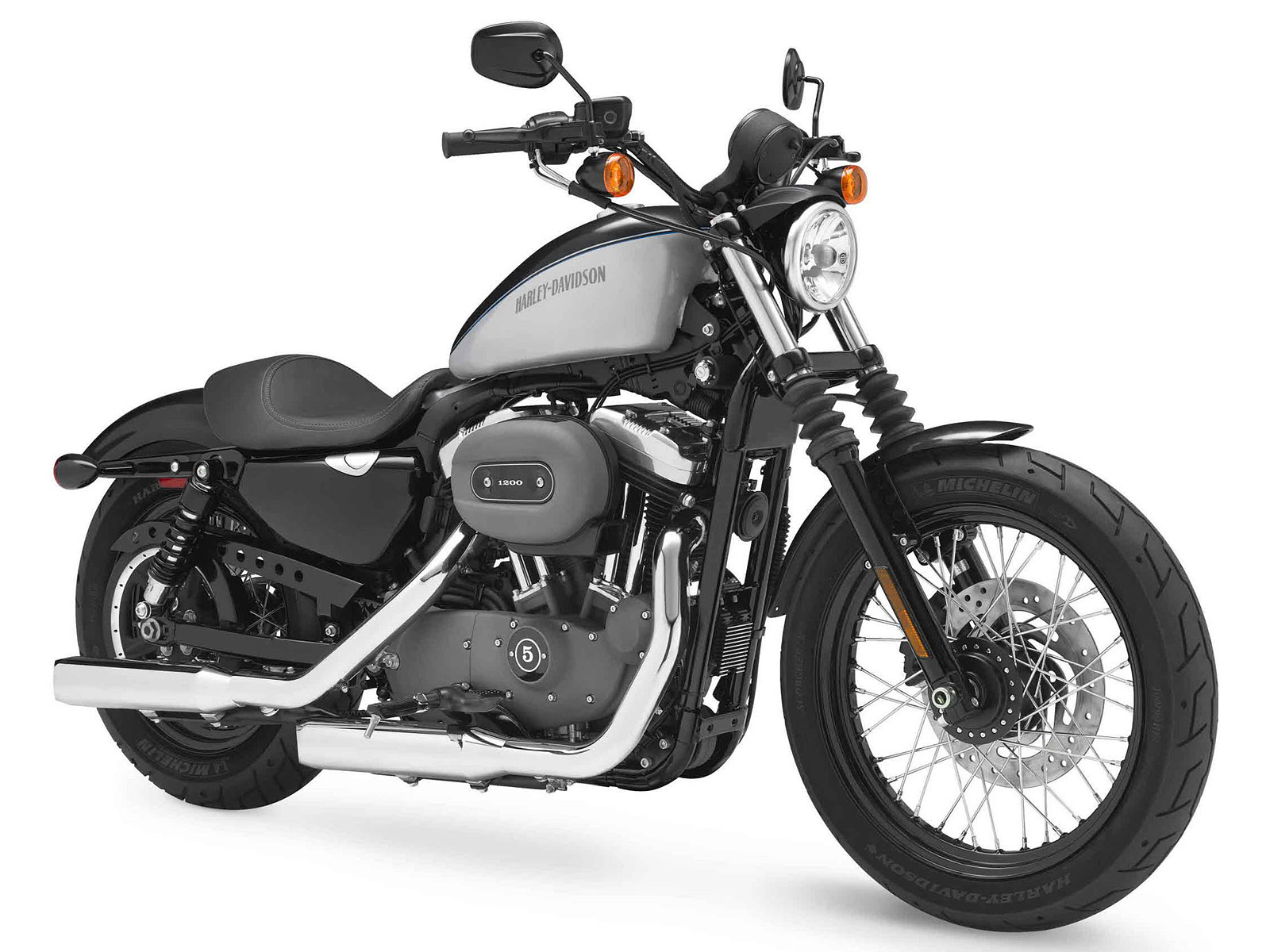 Harley Davidson: 2012 Harley-Davidson XL1200N Nightster Pictures, Review, Specs