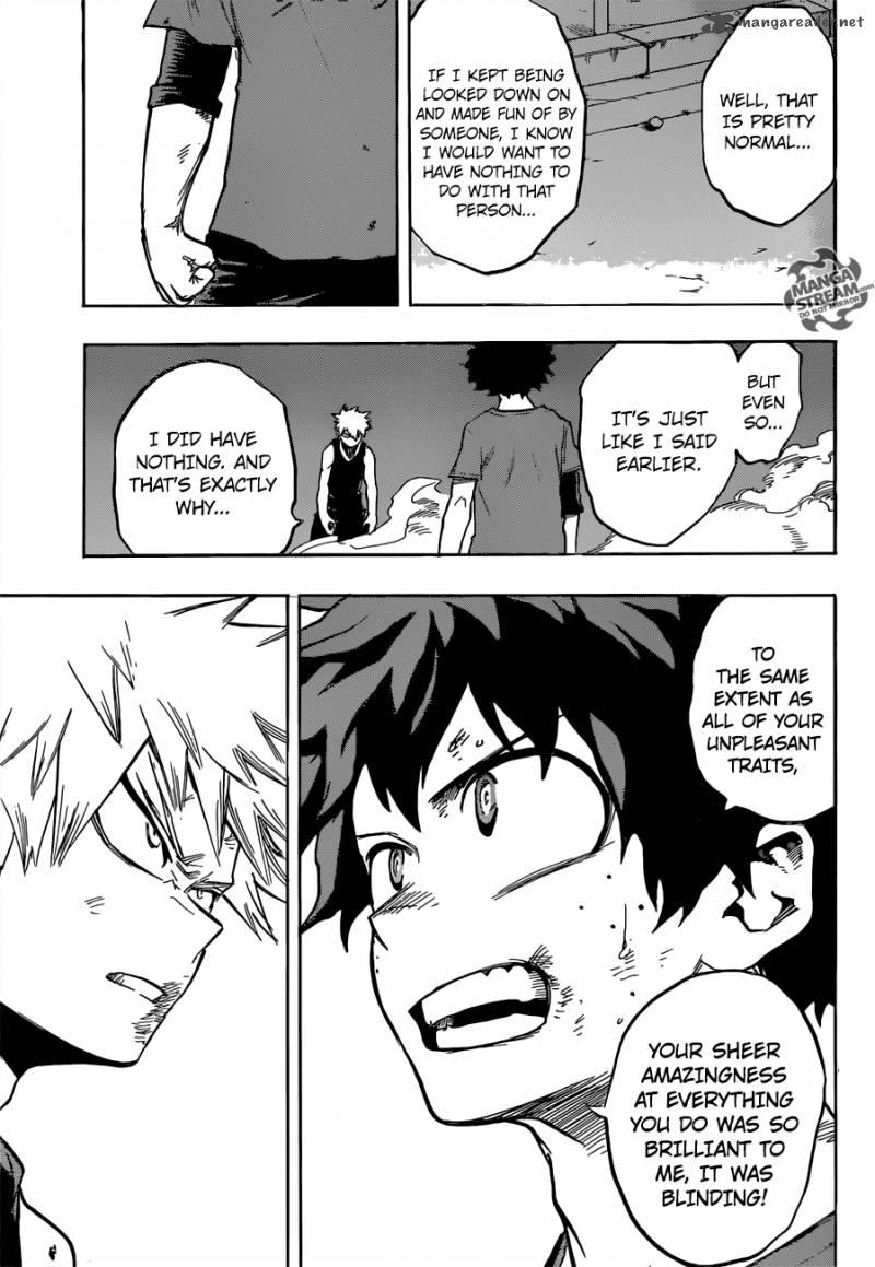 Boku no Hero Academia - Chapter 134