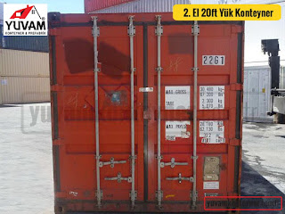 20lik yük konteyner kapıları