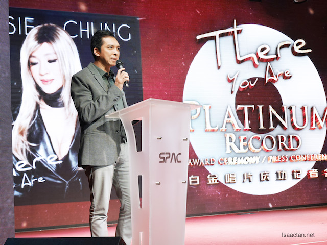 Chairman of the Recording Industry Association of Malaysia (RIM) and Managing Director of Warner Music Malaysia & Singapore Darren Choy