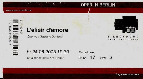 Staatsoper (Ópera Estatal), Berlim, Alemanha