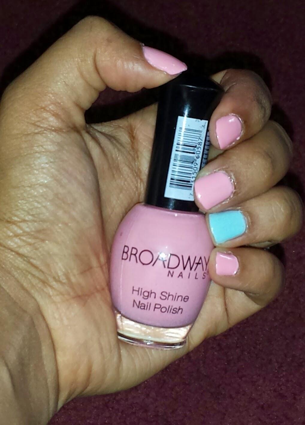 BronzedSouthernBeauty: $1 Find! Broadway Nails High Shine