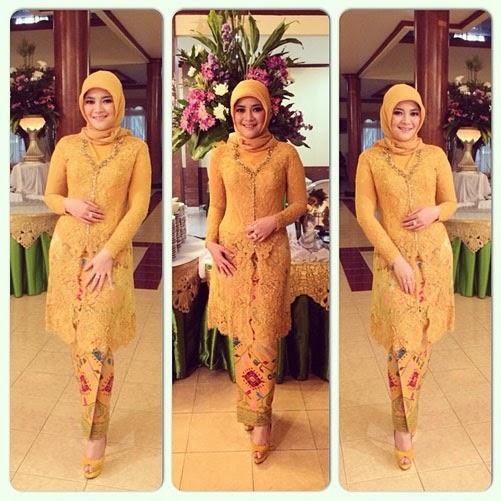 Tutorial Hijab Kebaya Warna Kuning My Wordpress Blog