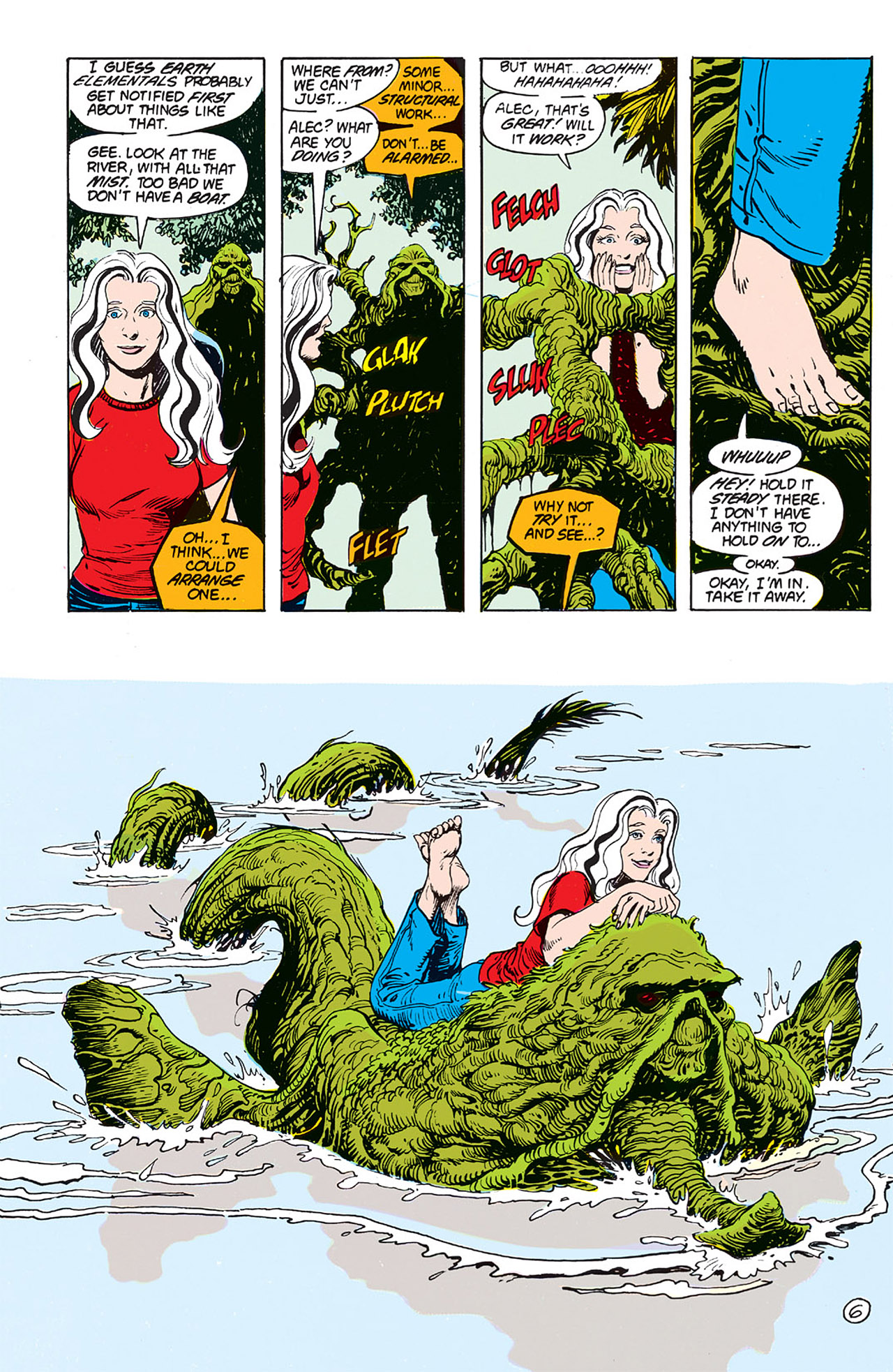 Swamp Thing (1982) Issue #64 #72 - English 7
