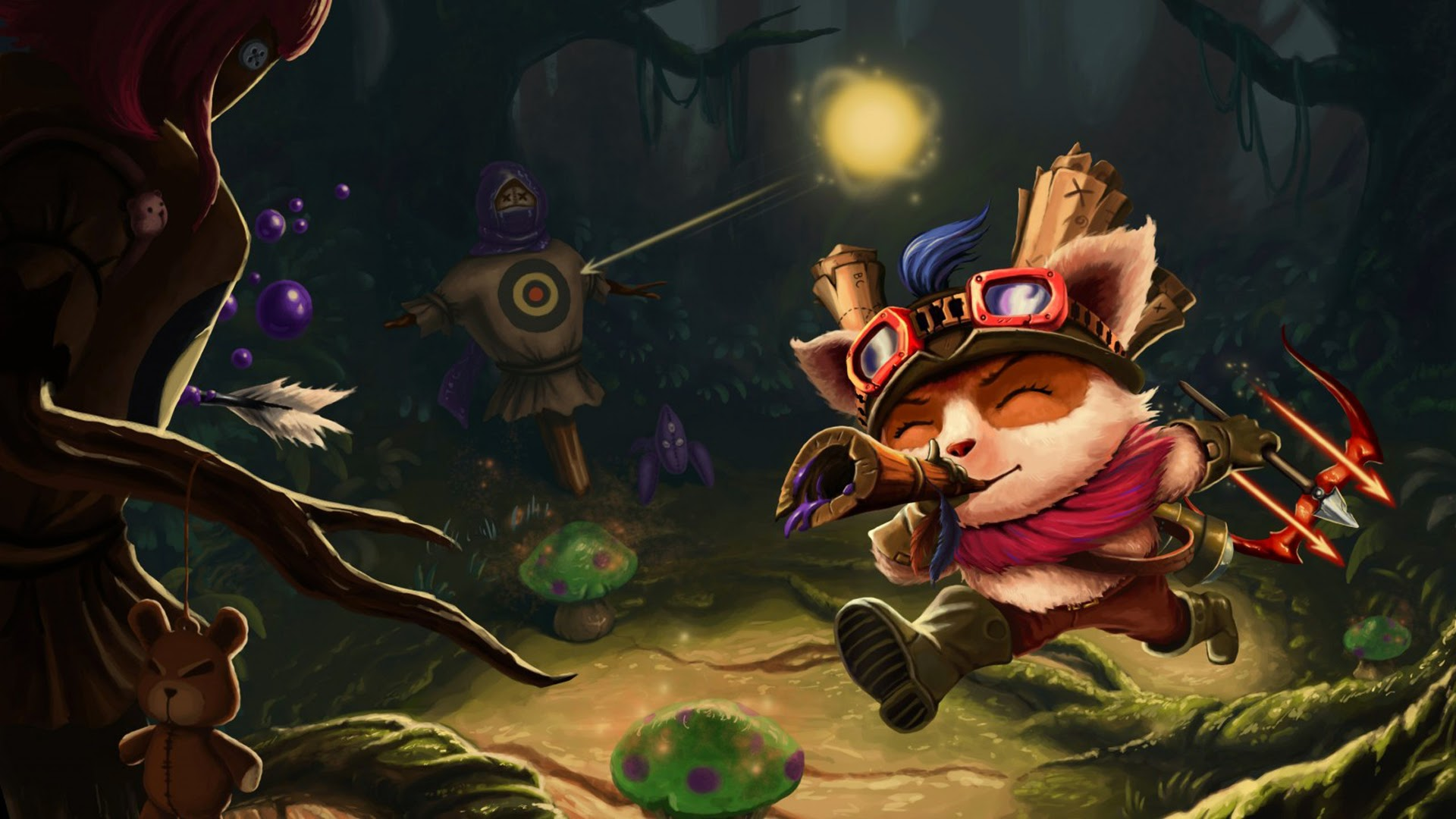 Teemo League of Legends 3t Wallpaper HD