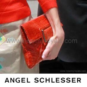 Queen Letizia style Angel Schlesser Clutch Bag
