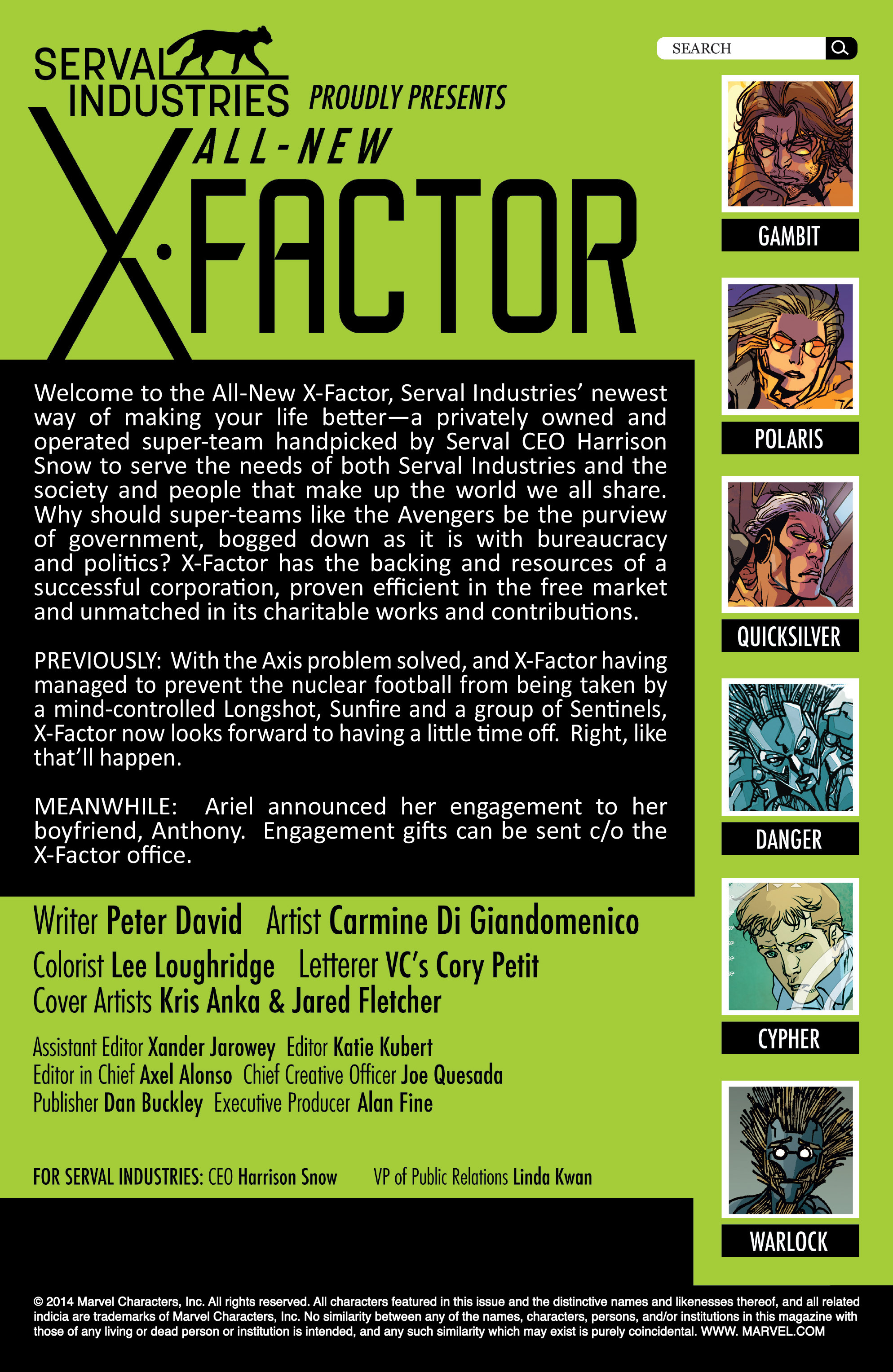 Read online All-New X-Factor comic -  Issue #18 - 2