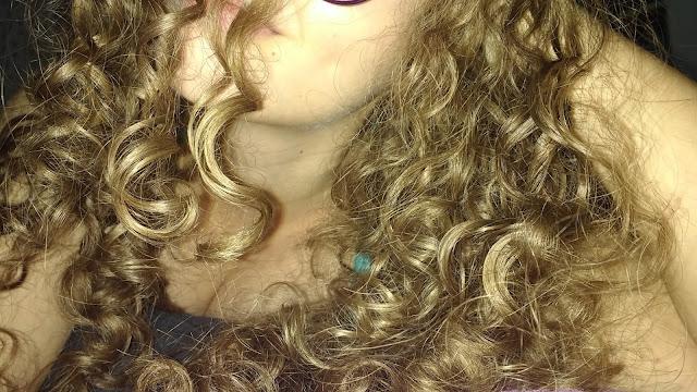 Resultado da Hidratação de maizena com óleo de coco no cabelo! Blog Insaturada