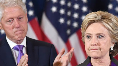 Un incendio arrasa parte de la casa de Bill y Hillary Clinton