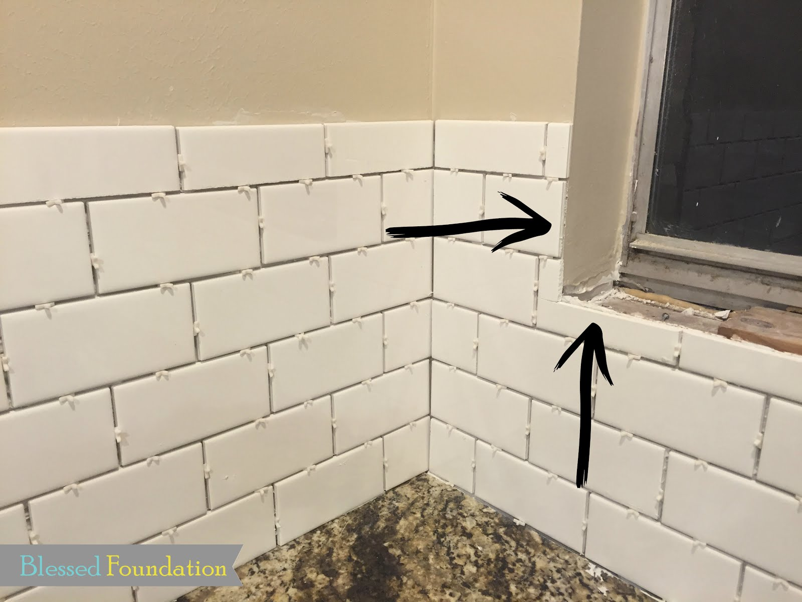 Blessed Foundation Post 41 Kitchen Backsplash