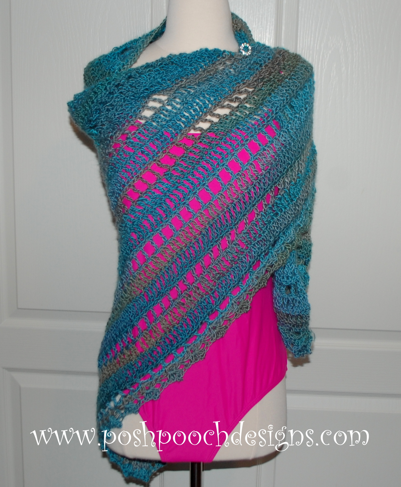 Free Crochet Patterns Dog Clothes : Posh Pooch Designs Dog Clothes: Beach Vacation Shawl Free ...