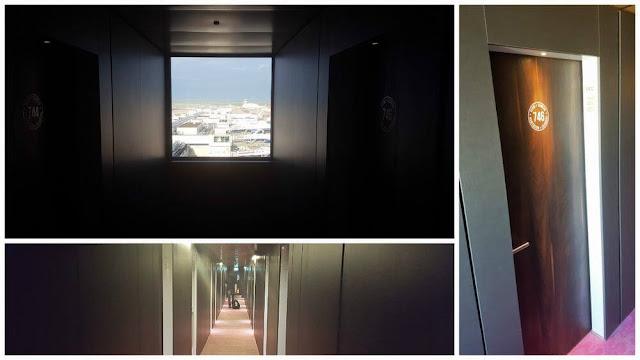 pasillo bloc hotel gatwick