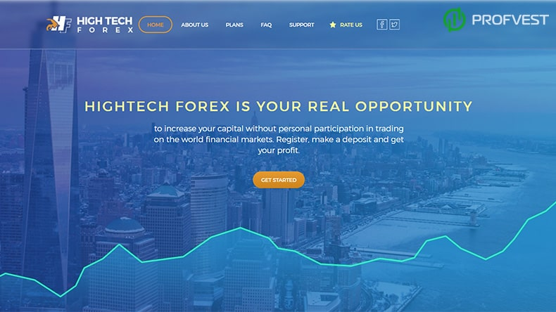 High Tech Forex обзор и отзывы HYIP-проекта